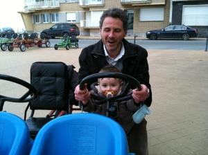 Jerome et Raphael Selosse à Ostende 2012