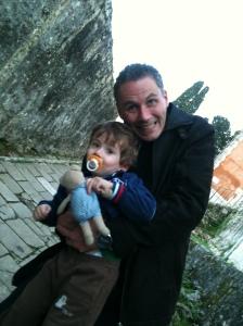 Jerome Selosse et son fiston Raphael