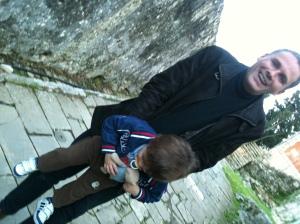 Jerome et Raphael Selosse à Corfu 2012